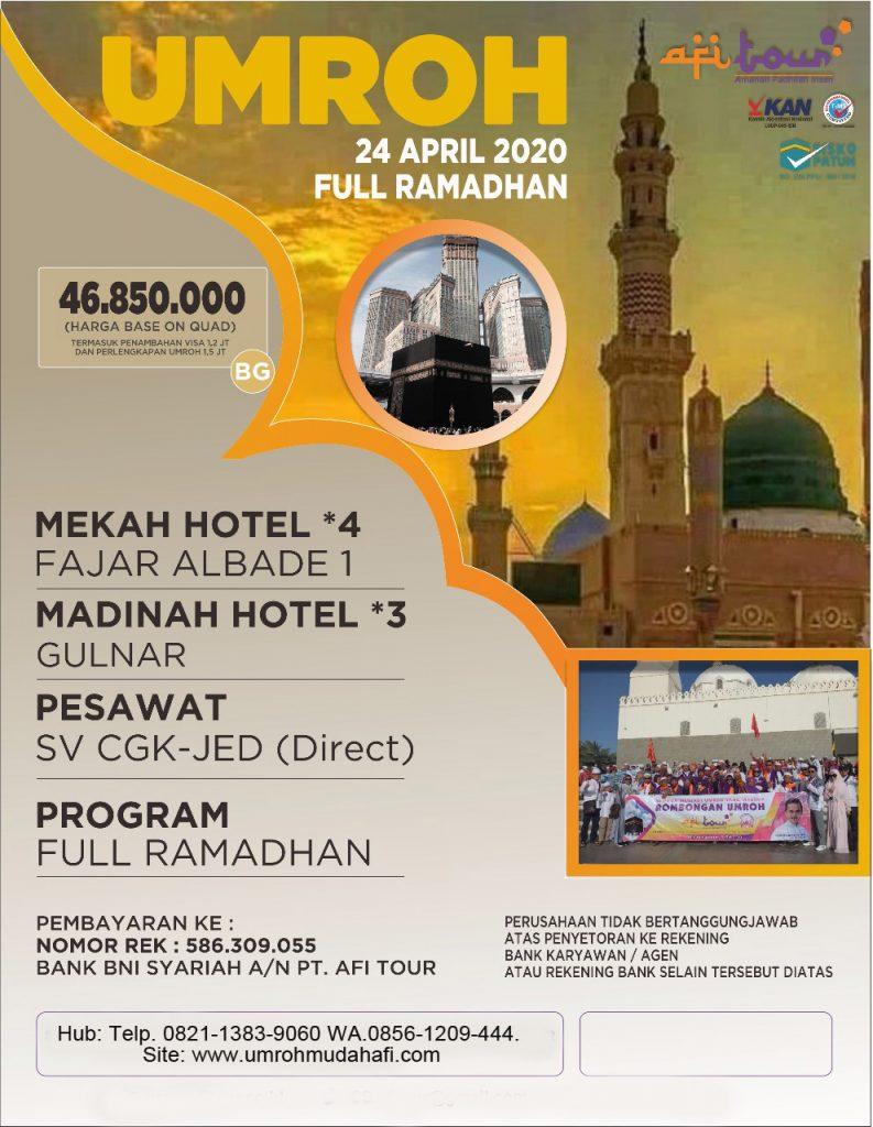 Ramadhan 24 April 2020